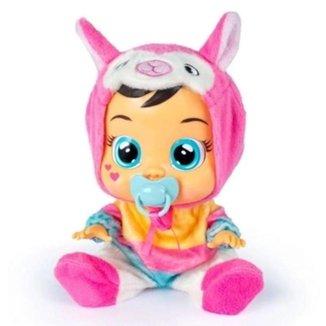Boneca Bebê Cry Babies Multikids com Sons e Lágrimas de Verdade Lena