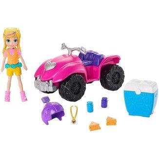 Boneca Polly Pocket Quadriciclo Fabuloso com Acessórios Mattel