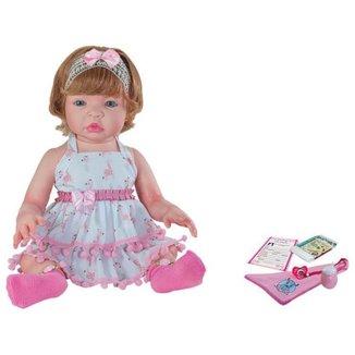 Boneca Reborn Doll Realist Kayla com Acessórios