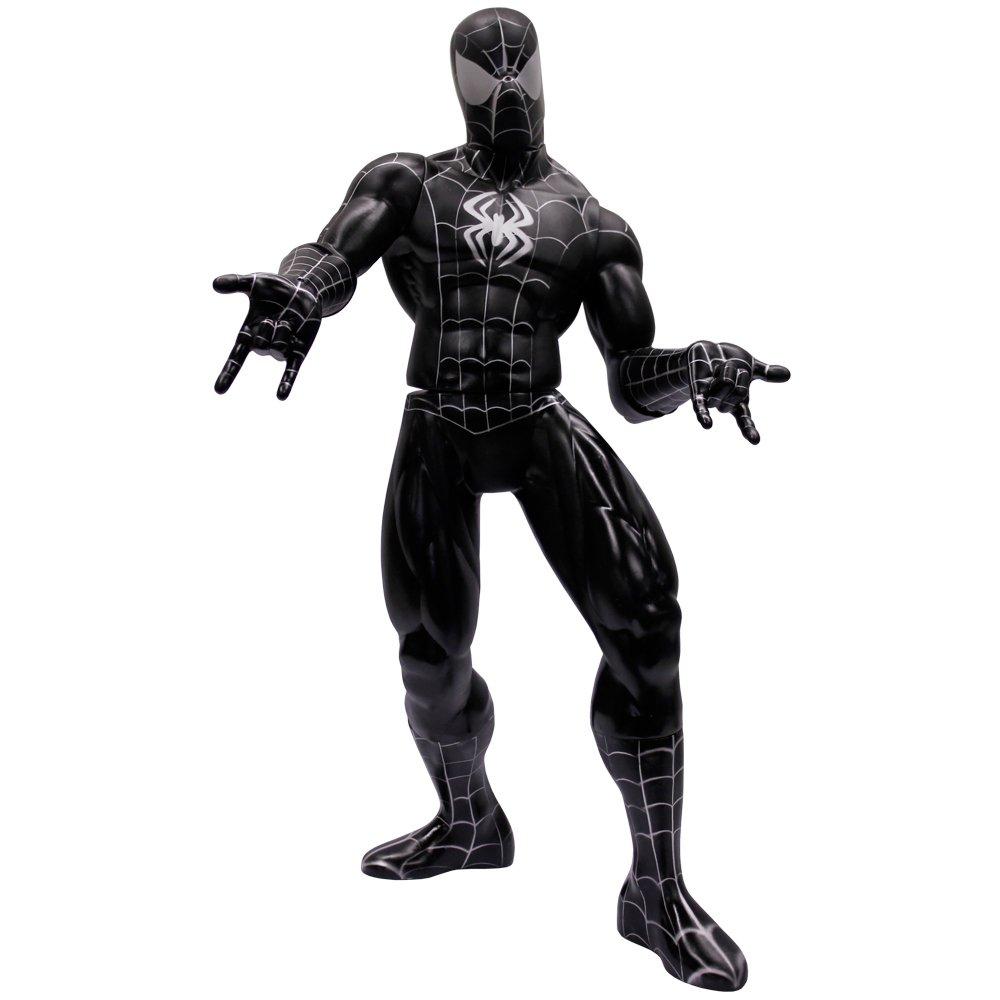 Boneco Homem Aranha Preto Gigante Mimo Zattini Os bonecos do homem aranha vem acompanhados de boneco homem aranha preto gigante