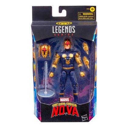 Boneco Marvel Legends Build a Figure Nova HQ Hasbro F0203