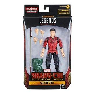 Boneco Marvel Legends Build a Figure Shang Chi Hasbro F0247