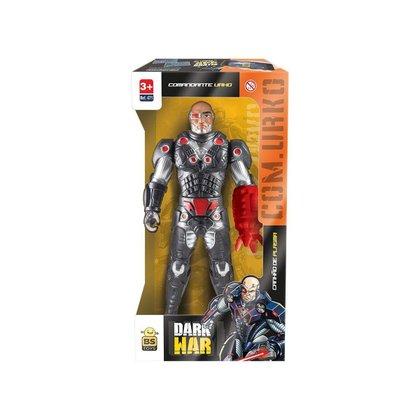 Boneco Soldado Soldier Dark War - Bs Toys Brinquedo