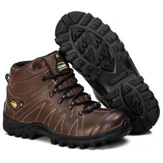 Bota Adventure Tchwm Shoes Couro Conforto Estilo Dia Dia