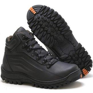 Bota Adventure Tchwm Shoes Couro Palmilha Gel Resistente