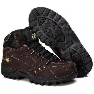 Bota Adventure Tchwm Shoes Couro Sola Borracha Forro Macio