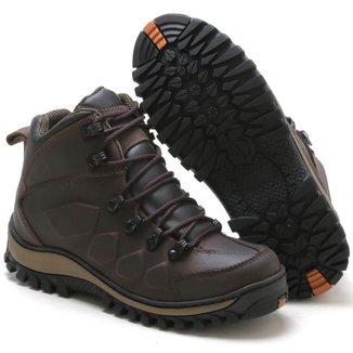 Bota Adventure Tchwm Shoes Couro Sola Costurada Palmilha Gel