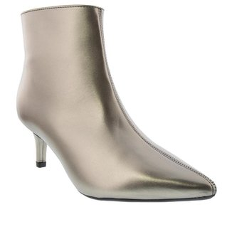 Bota Ankle Boot Gabriela Salto Fino Feminina