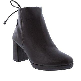 Bota Ankle Boot Vizzano Salto Grosso Feminina