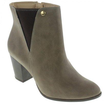 Bota Ankle Boots Via Marte Feminina-Feminino