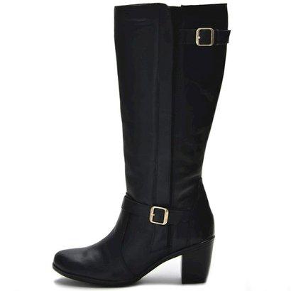 Bota Atron Shoes Fivela-Feminino