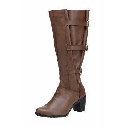 Bota Atron Shoes Panturrilha Brandy