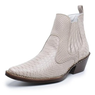 Bota Bico Fino Anaconda Country Jna Shoes Masculina