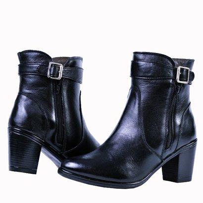 Bota Cano Curto Art Shoes Couro-Feminino