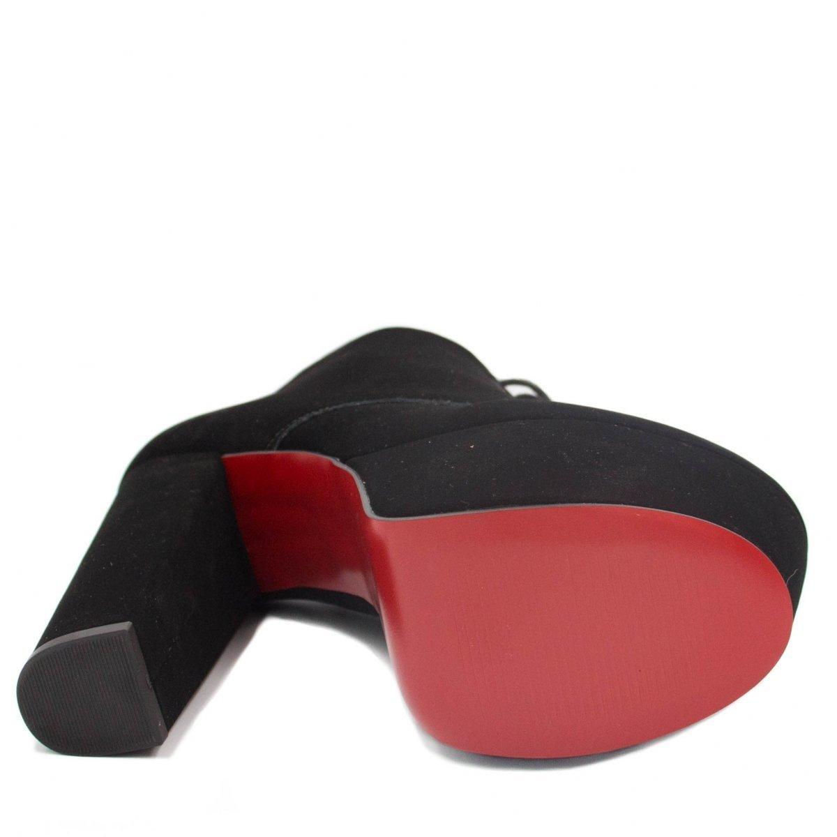 Bota Cano Curto Zariff Shoes Coturno Salto Alto Feminina - Compre ... 1f568cfb28