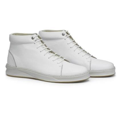 Bota Cano Médio Sneaker Adolfo Turrion Couro Confort Masculina