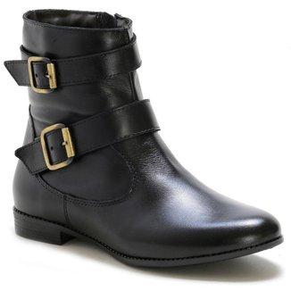 Bota Casual Couro Dia A Dia Doc Shoes Feminina