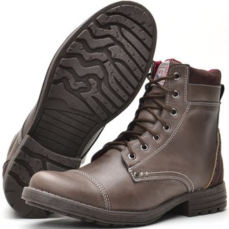 Bota Casual Fort Way Masculina c/ Zíper