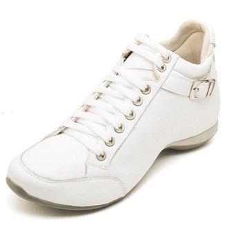 Bota Clube do Sapato de Franca Top Confort 2 Fivela Feminina
