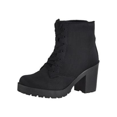 Bota Coturno Cr Shoes Camurça Feminina-Feminino