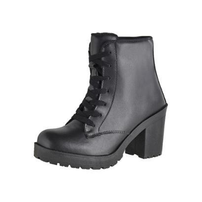 Bota Coturno Cr Shoes Napa Feminina-Feminino