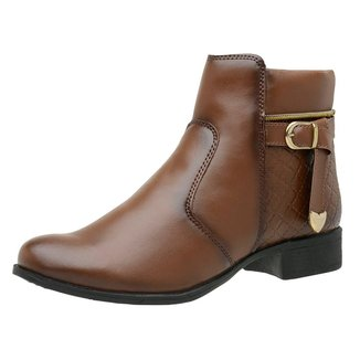 Bota Coturno Feminino Top Franca Shoes