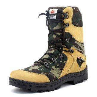 Bota Coturno Masculino Militar Atron Shoes