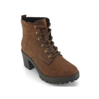 Bota Coturno Ramarim Ankle Boot Feminina