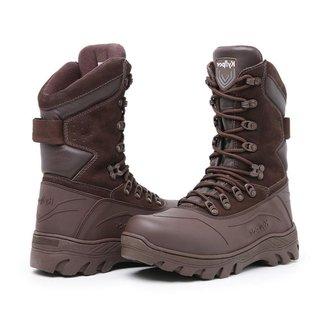 Bota Coturno Rvs Shoes Militar Couro Air Extreme Masculina