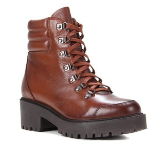 Bota Coturno Shoestock Tratorada Feminina
