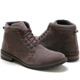 Bota Coturno Top Shoes Masculina Casual
