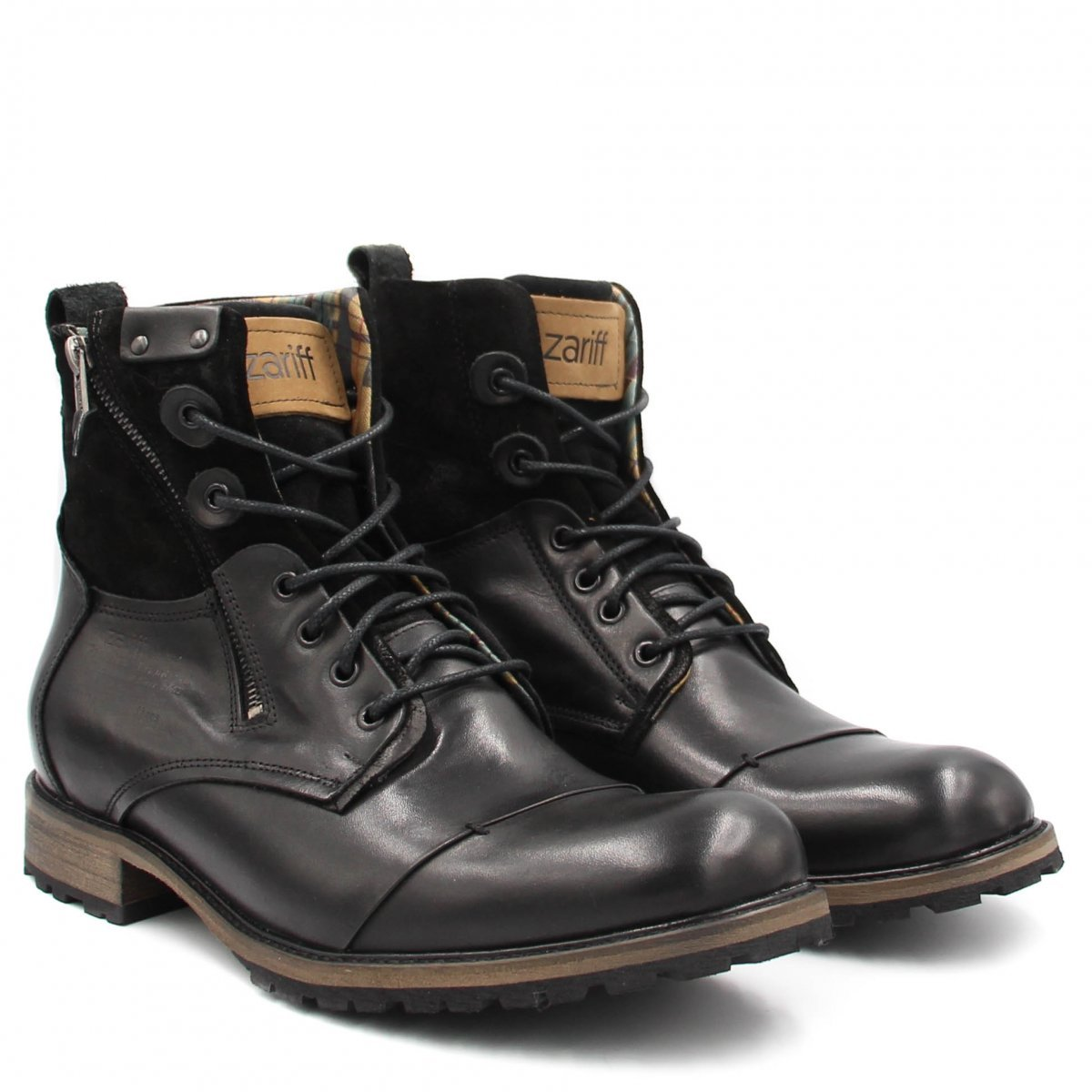 Bota Masculina Zariff Shoes Preto Bota Coturno Zariff Coturno Shoes Rock tUZqavAq
