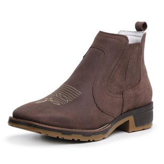 Bota Country Couro Jna Shoes Masculina