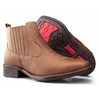 Bota Country em Couro Capelli Boots  Feminina