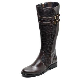 Bota Country  Montaria Top Franca Shoes Escama Feminina