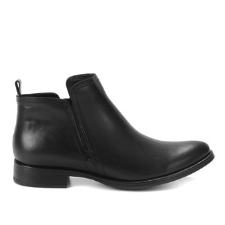 Bota Couro Cano Curto TH Shoes Lisa Feminina