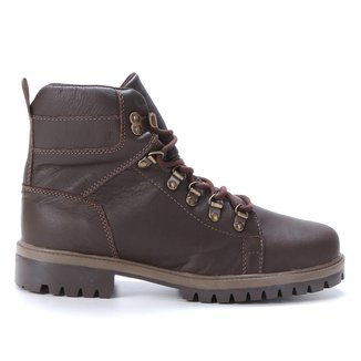 Bota Couro Coturno Walkabout Masculina