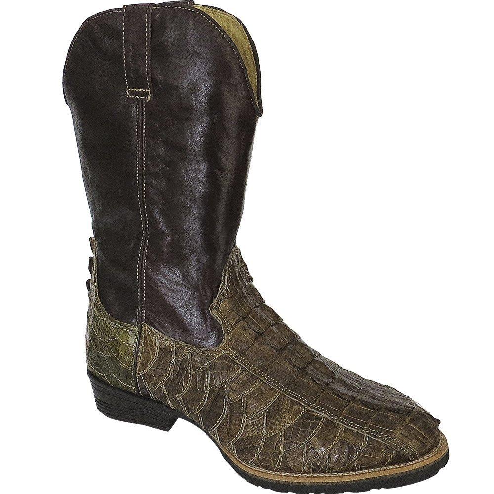 Bota Couro Country Texana Escamas Jacaré Masculina - Compre Agora ... fb98e6bef21