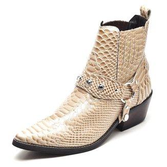 Bota Couro Country Top Franca Shoes Masculino