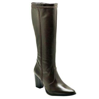 Bota Couro D&R Shoes Feminina