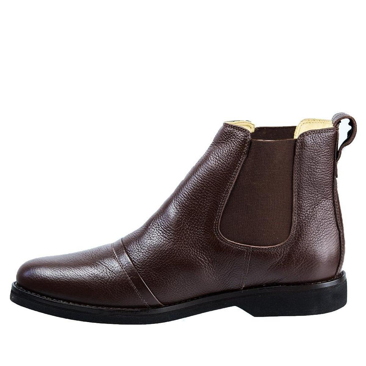 Bota Couro Floater 8611 Doctor Shoes Masculina - Café
