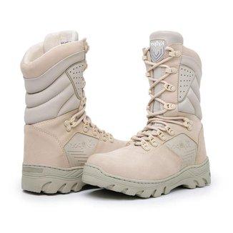 Bota Couro Rvs Shoes Coturno Militar Malibu Extreme Masculino