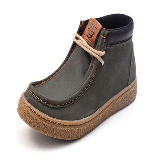 Bota Couro Shoes Grand Casual Masculina
