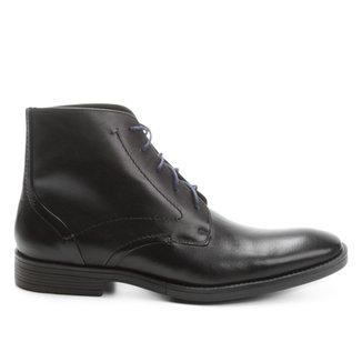 Bota Couro Shoestock Cano Médio Masculina