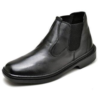 Bota Couro Top Franca Shoes Masculino