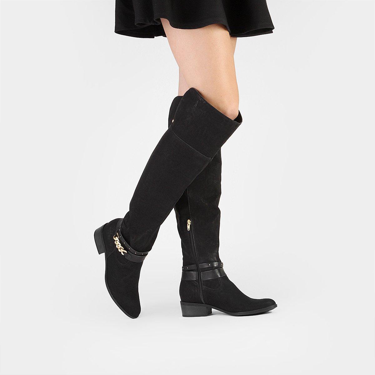 5f47d8659 Bota Cravo&Canela Over the Knee Corrente - Compre Agora | Zattini
