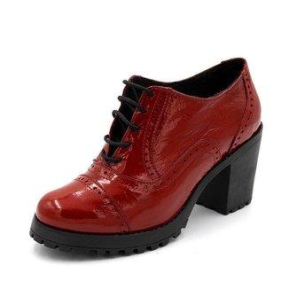 Bota Danflex Calçados Oxford Feminina