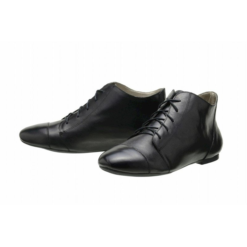 Preto Leather Boot Bota Boot Bota Preto Encinas Bota Encinas Ankle Ankle Leather wBgTgqpX