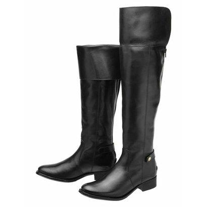Bota Encinas Leather Montaria Over Knee