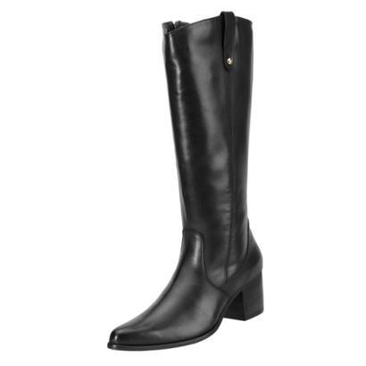 Bota Encinas Leather Montaria-Feminino